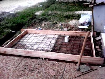Pembuatan septic tank
