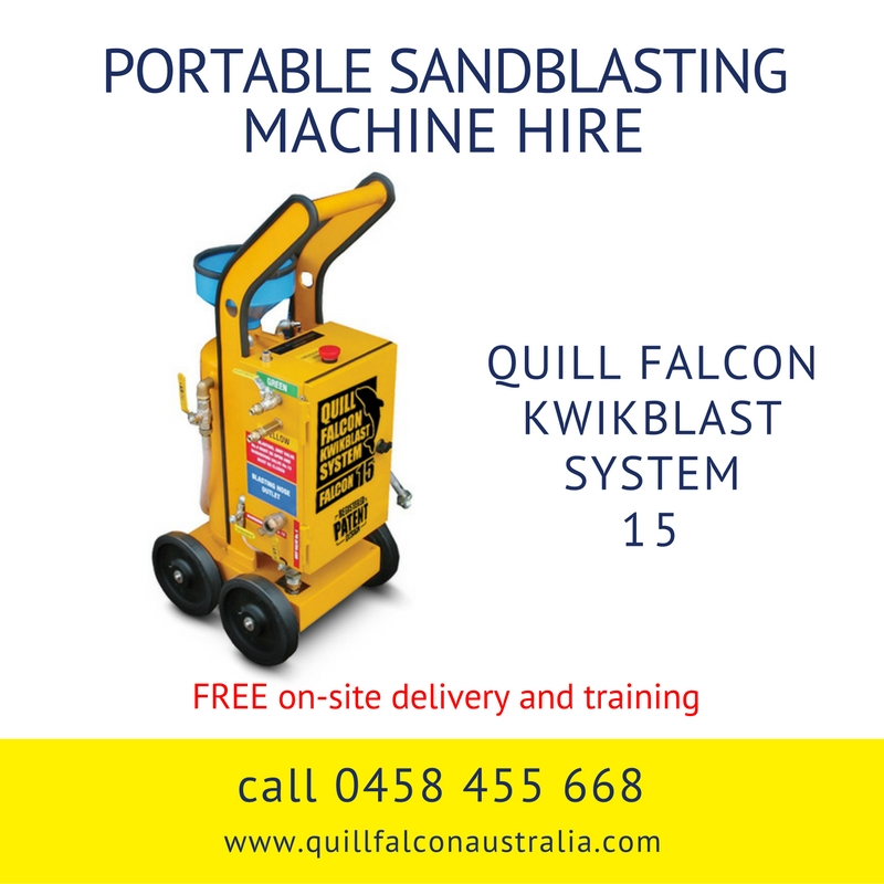 Quill Falcon Kwikblast Dustless Blasting Machine Falcon 15