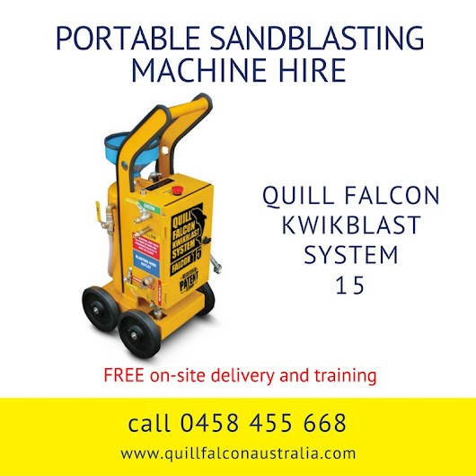 Hire a Portable Dustless Blasting Machine in Adelaide