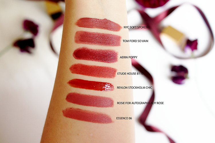 fall-autumn-lipsticks-tom-ford-rosie-for-autograph-aerin-poppy-swatches