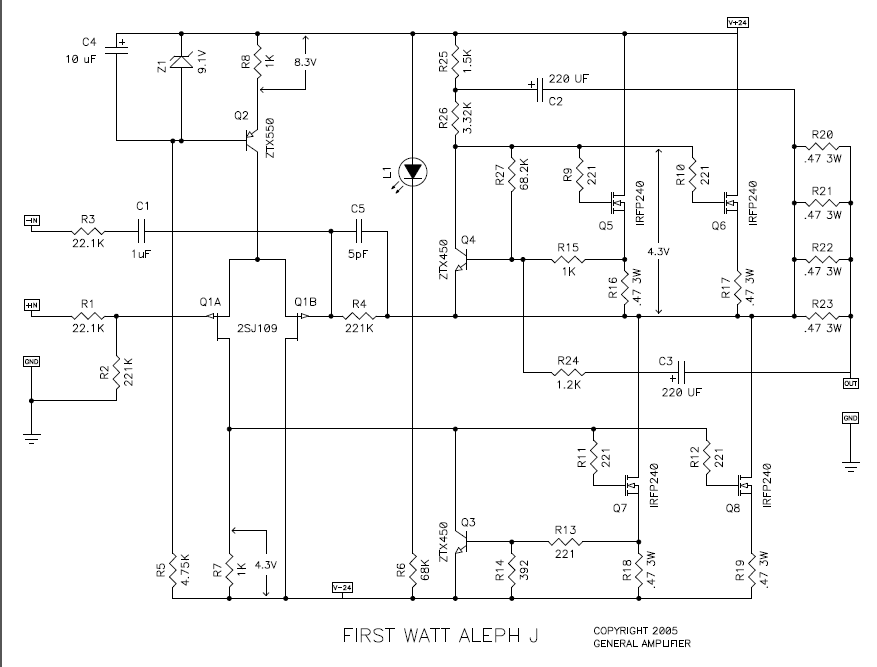 [DIAGRAM_38IS]  Aleph J Schematic - Page 183 - diyAudio | Aleph J Circuit Diagram |  | diyAudio