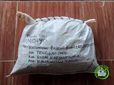 Benih pesana MISIYO Kukar, Kaltim  (Sesudah Packing)