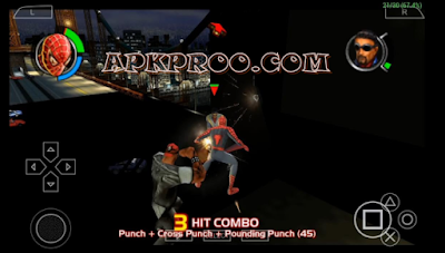 Game Siderman 2 PSP PPSSPP High Compress