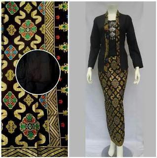 rok span batik panjang modern