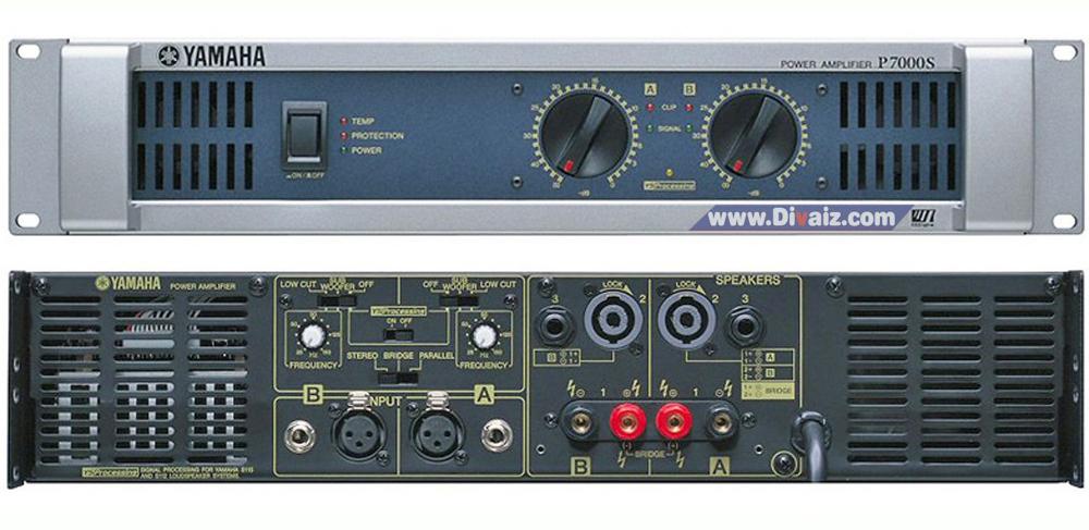 Power Amplifier YAMAHA P7000S - www.divaizz.com