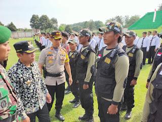 5.690 Relawan Keamanan Dilibatkan  Pengamanan Pemilu