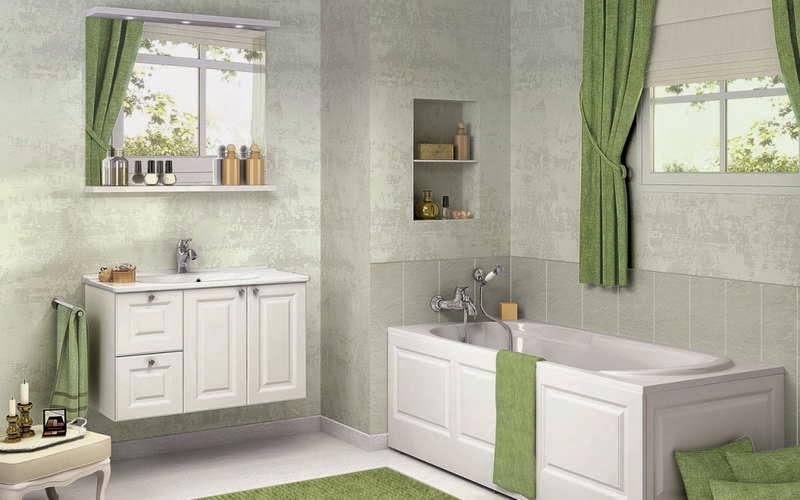 rideau pour salle de bain bright