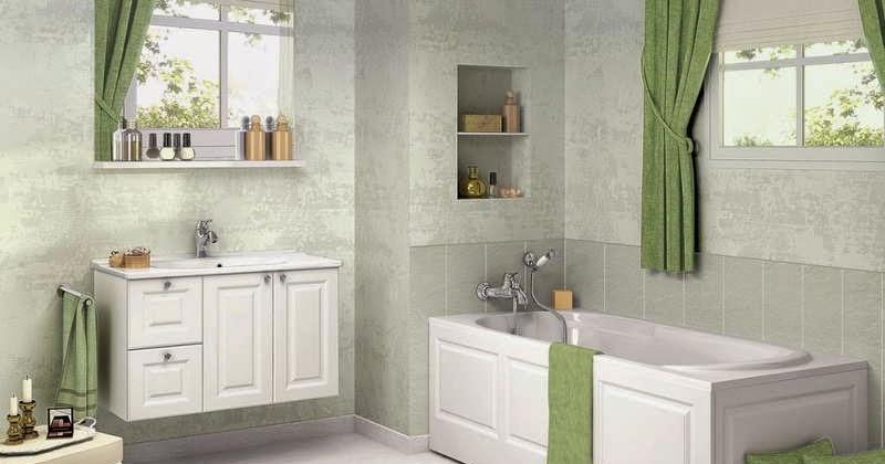 rideaux pour fenetre de salle de bain id es d co pour maison moderne. Black Bedroom Furniture Sets. Home Design Ideas