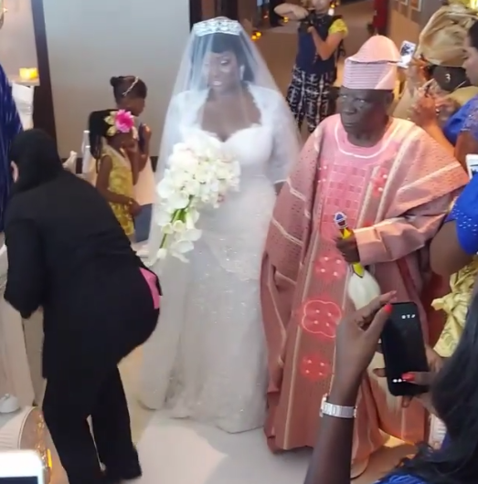 View of Tolu AKA Toolz & Tunde Demuren marriage pictures,3