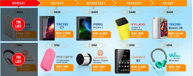 http://c.jumia.io/?a=59&c=9&p=r&E=kkYNyk2M4sk%3d&ckmrdr=https%3A%2F%2Fwww.jumia.co.ke%2Fflash-sales&s1=Mobile%20week&utm_source=cake&utm_medium=affiliation&utm_campaign=59&utm_term=Mobile week