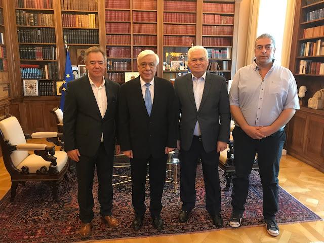 Συνάντηση του Σ.Α.Σ.Ο.Ε.Ε. με τον Πρόεδρο της Ελληνικής Δημοκρατίας
