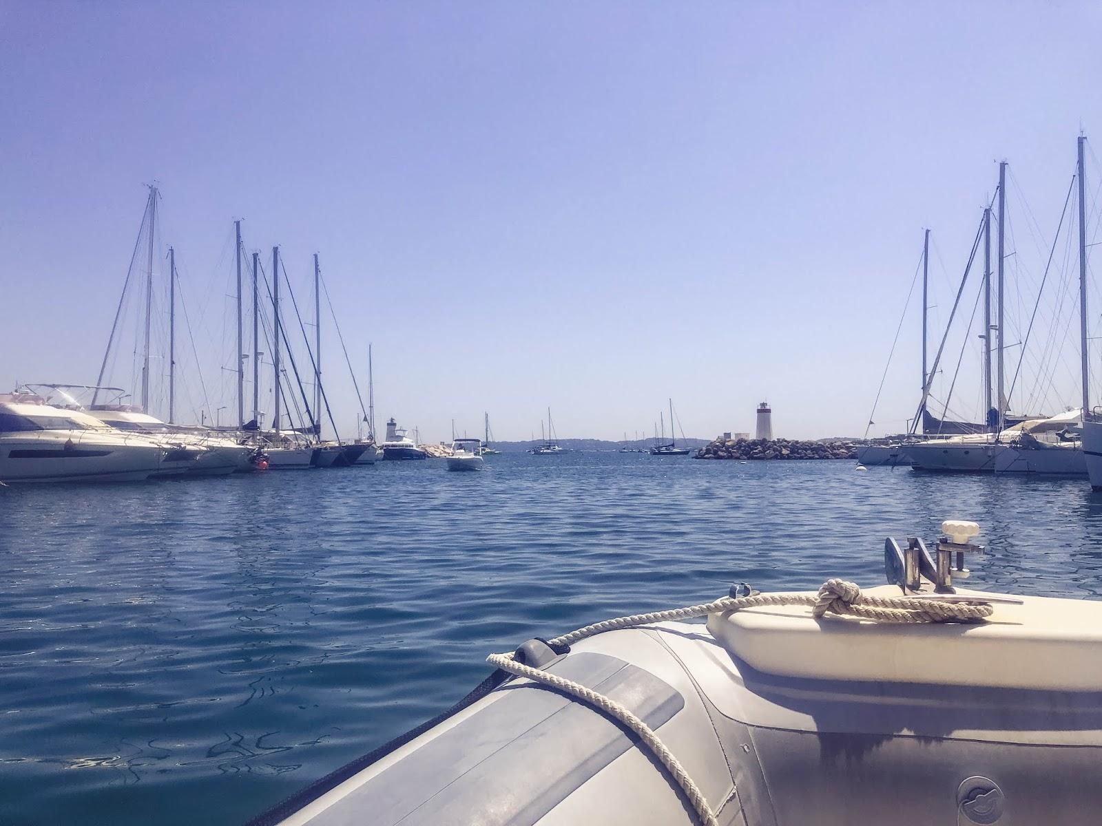 balade en bateau île de Porquerolles blog voyage