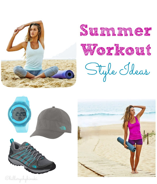 Ideas and Inspiration for looking stylish during your summer workout