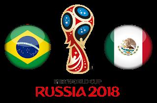 البرازيل تنجو من فخ خروج الكبار وتفوز على المكسيك 2-0 وتواصل المشوار في كأس العالم 2018