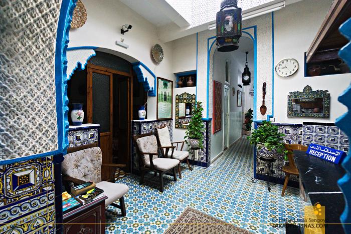 Hotel Sahara Asilah Morocco Lobby