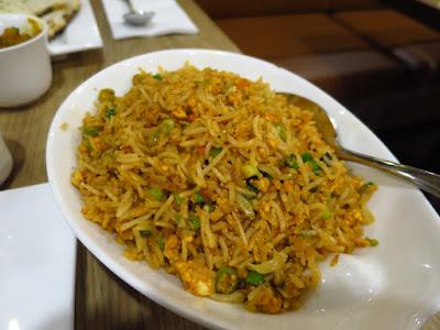 Nalan Restaurant, paneer fried rice