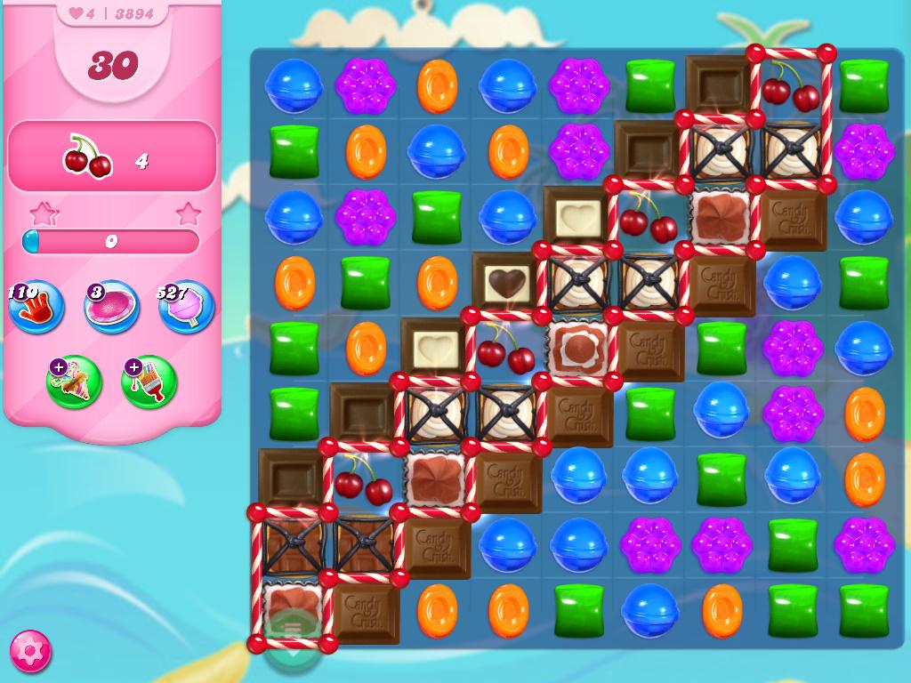 Candy Crush Saga level 3894