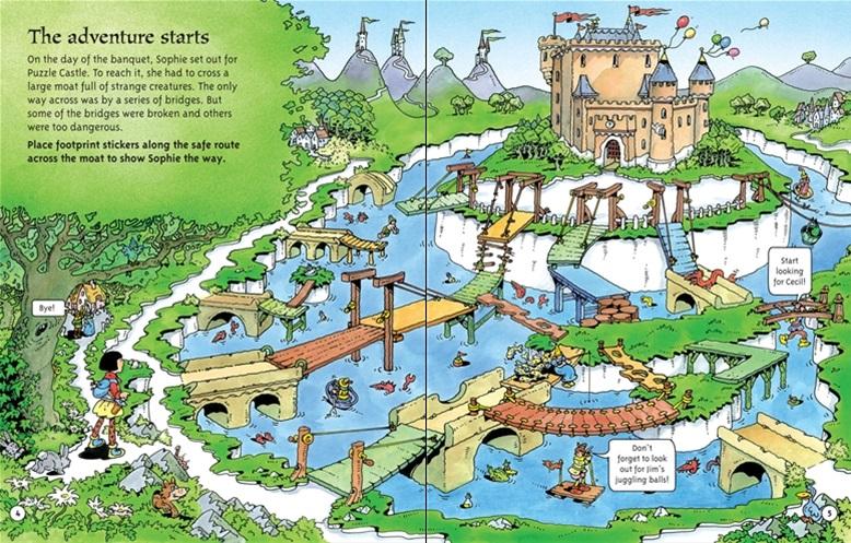 Read Aloud Dad : Puzzle Castle: Astounding Activity Books