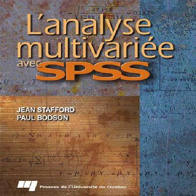 livre : l'analyse multivariée avec SPSS en PDF