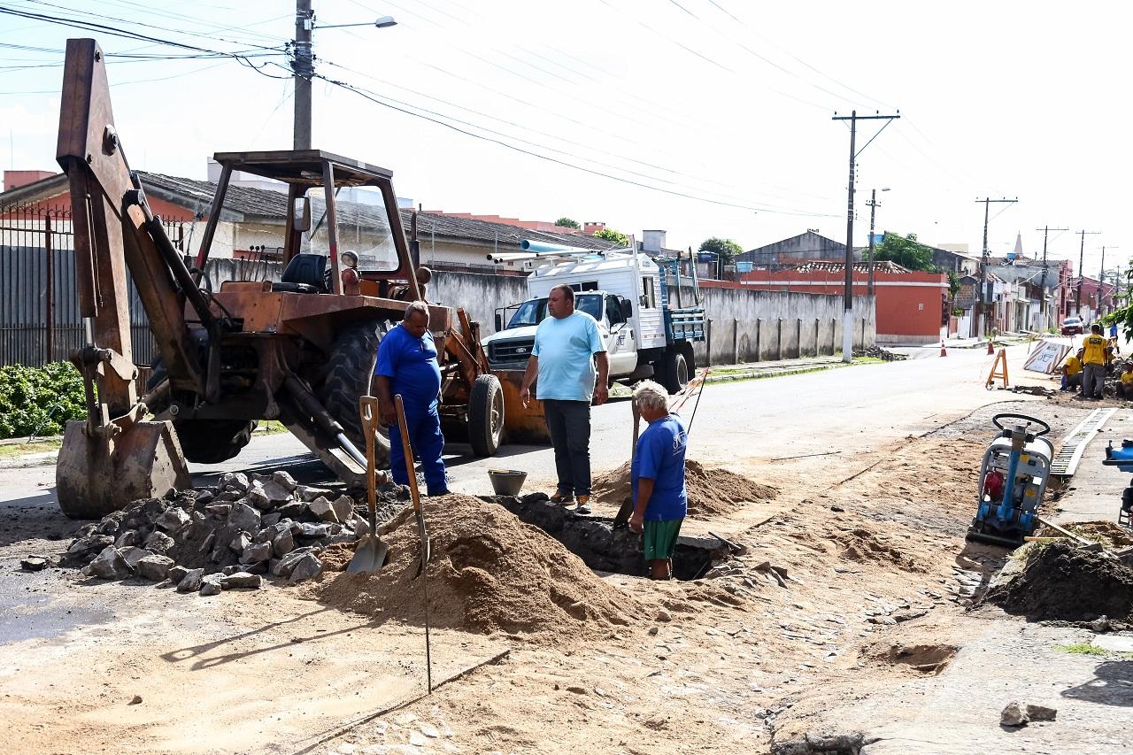 42a4e26e42f9 Sanep mantém equipes de plantão no Porto - Portal be - um novo e gratuito  portal de notícias