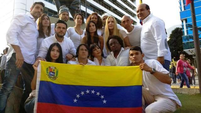 Artistas venezolanos pidieron continuar la protesta en la calle