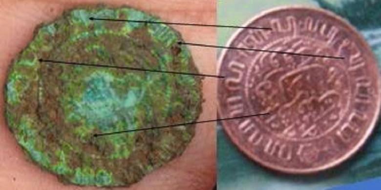 koin tertua disitus gunung padang