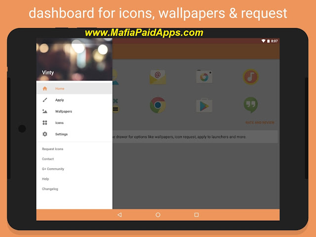 Vinty - Icon Pack Patched Apk MafiaPaidApps