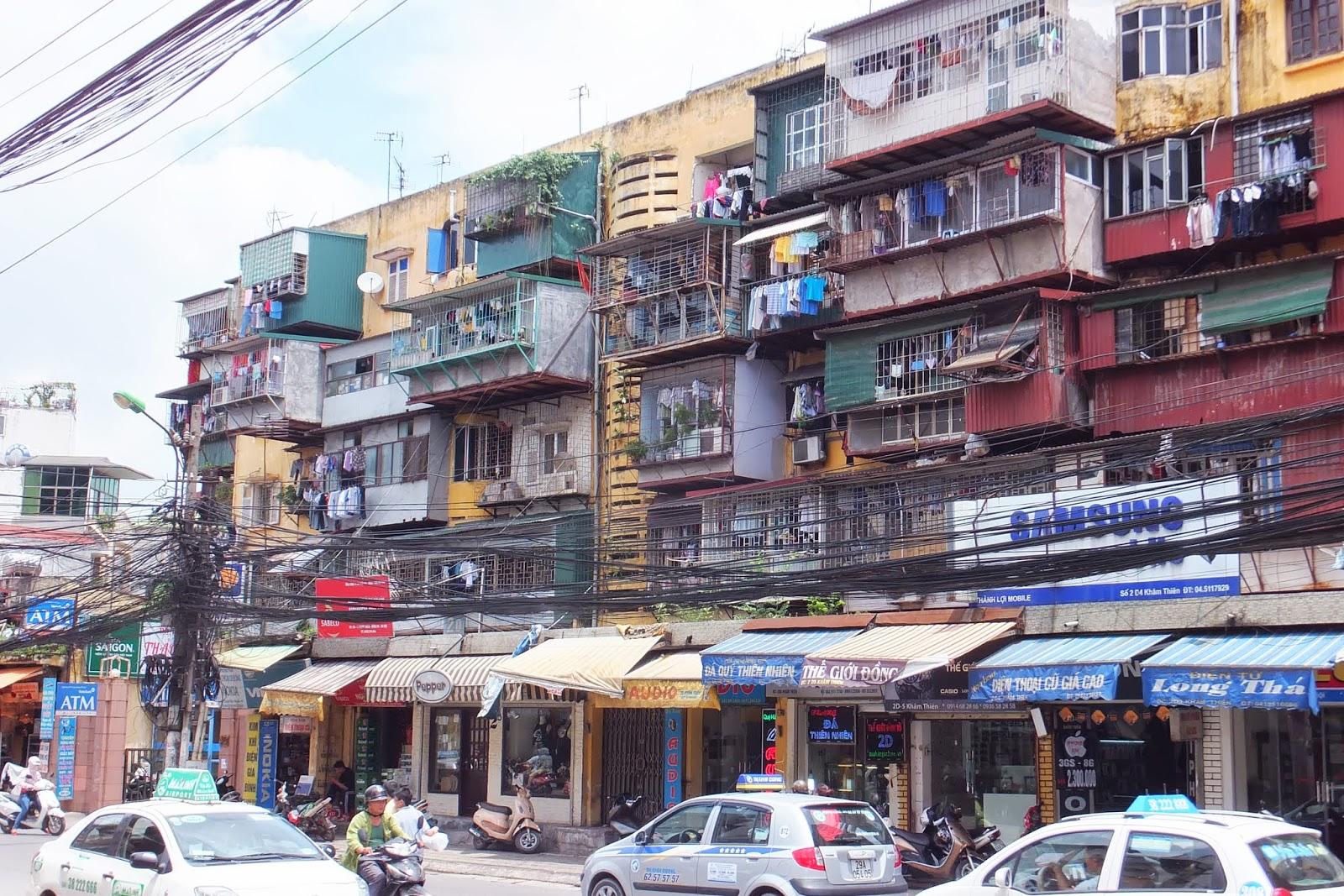 hanoi-house ハノイの住宅街