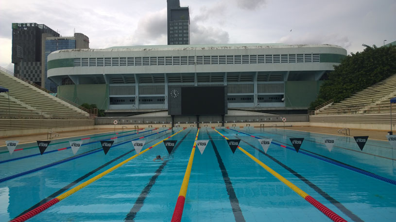 public swimming pool in bangkok wisutamol olympic size - Olympic Size Swimming Pool Dimensions