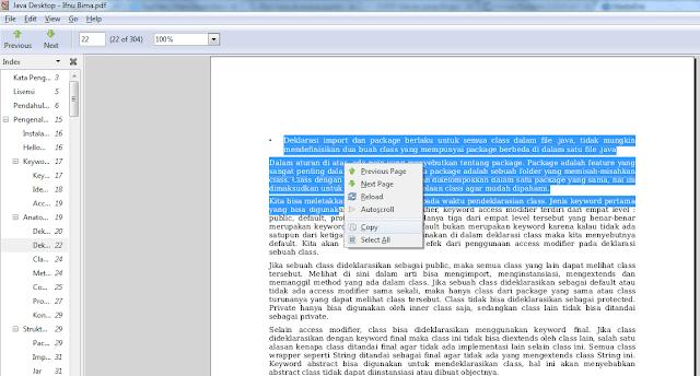Cara membuka file pdf yang terkunci agar bisa dicopy paste