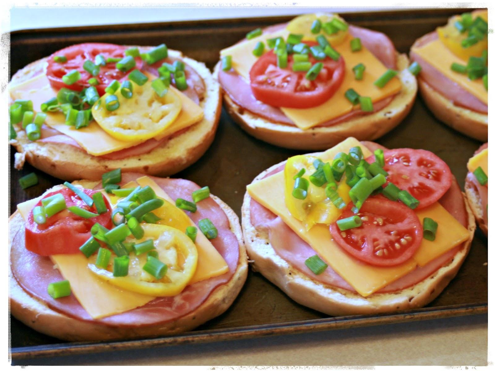 Kitchen Comments Breakfast Bagel Pizza