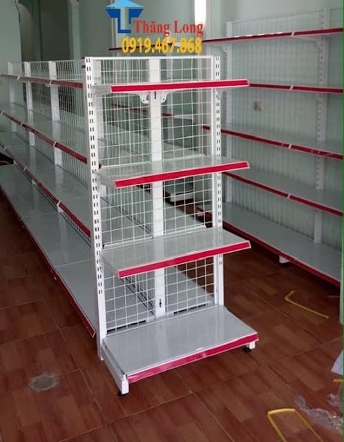 So sánh kệ để hàng siêu thị  Việt Nam và kệ Trung Quốc