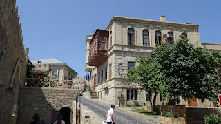 Balcony are the most important construction in the old Town of Baku