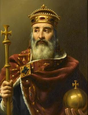 Charlemagne empereur en 800