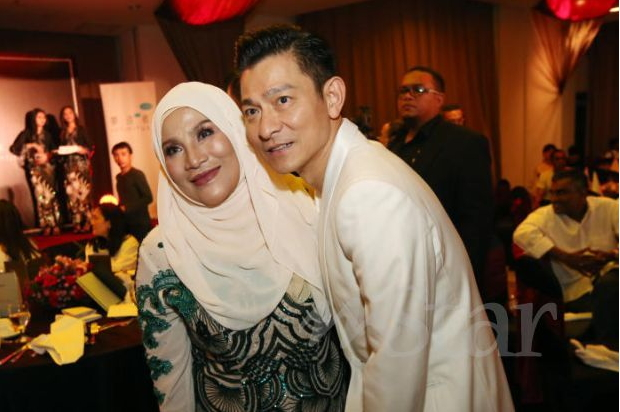 Pelakon Hong Kong, Andy Lau Ucap Tahniah Kutipan Besar Hantu Kak Limah