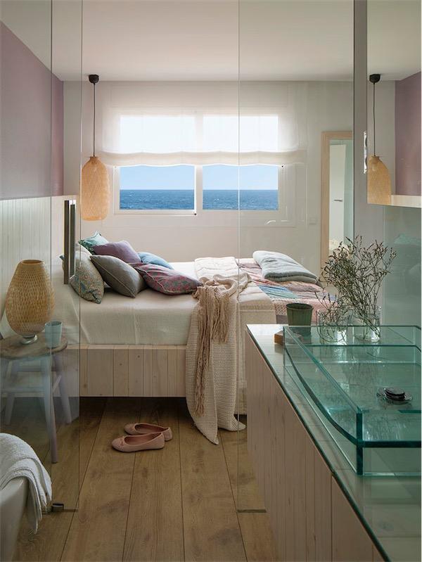 dormitorio suite con bano chicanddeco