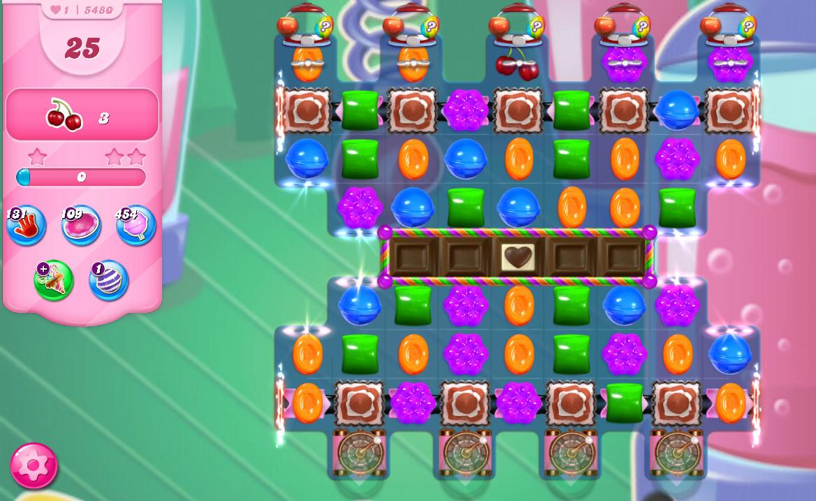 Candy Crush Saga level 5480