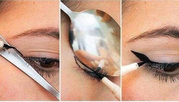 Maquillaje de Ojos con Cuchara