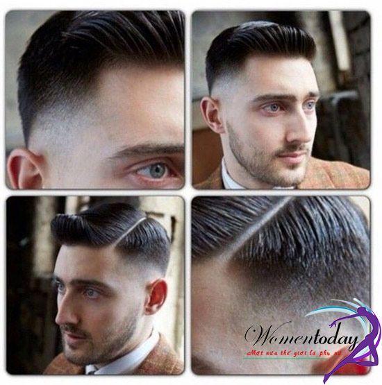 Kiểu tóc undercut ngắn phong cách Âu