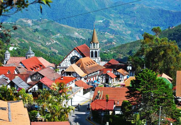 Ένα… γερμανικό αλπικό χωριό στη Βενεζουέλα!
