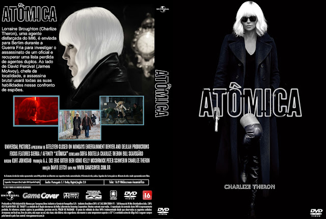 Capa DVD Atômica [Exclusiva]