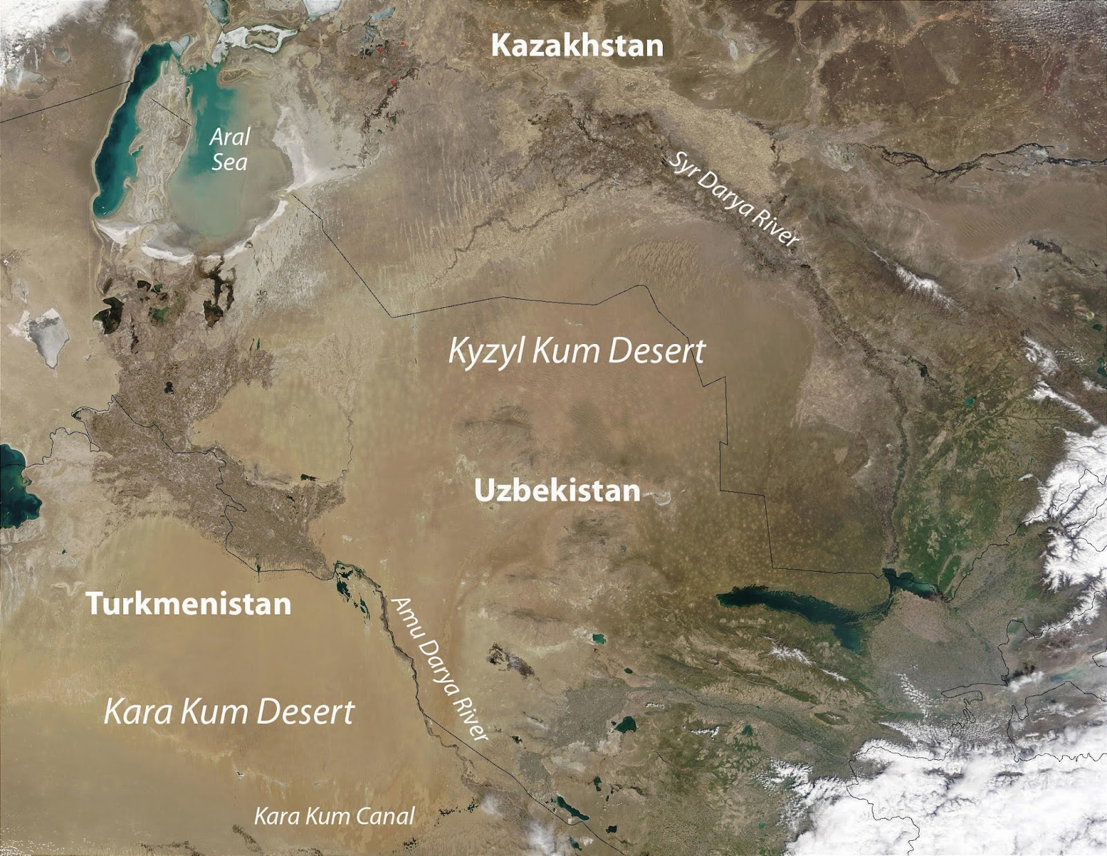 KARAKALPAKSTAN BLOG: DESERTS OF CENTRAL ASIA