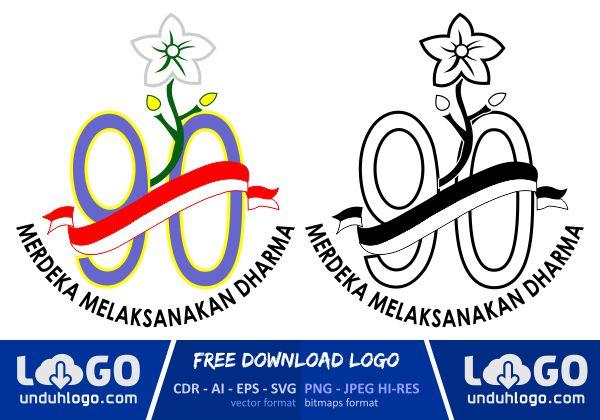 Logo Hari Ibu 90 Tahun 2018