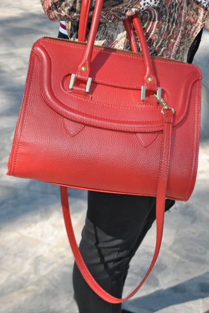 outfit borsa rossa come abbinare la borsa rossa abbinamenti borsa rossa borsa rossa street style red bag outfit how to wear red bag how to combine red bag how to match red bag red bag street style invernali outfit marzo 2016 outfit casual invernali mariafelicia magno fashion blogger color block by felym fashion blogger italiane fashion blog italiani fashion blogger milano blogger italiane blogger italiane di moda blog di moda italiani ragazze bionde blonde hair blondie blonde girl fashion bloggers italy italian fashion bloggers influencer italiane italian influencer