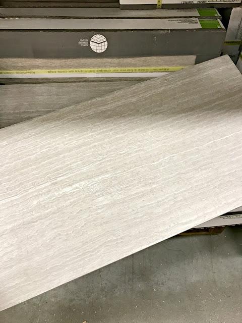 Light gray tile