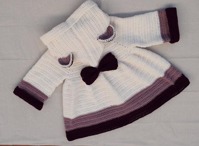 crochet girl's coat very easy