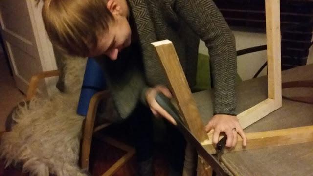 Judits klusboek proces meubel