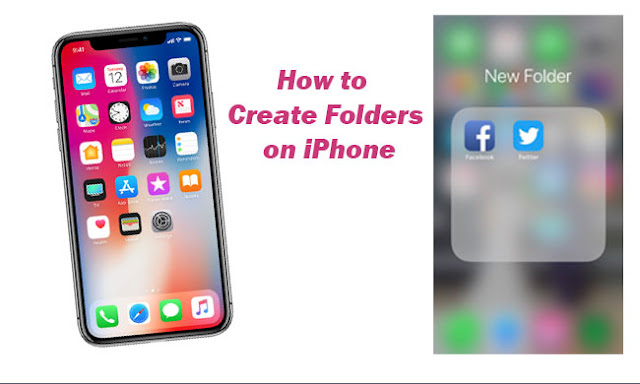How to Create Folders on iPhone Tutorial