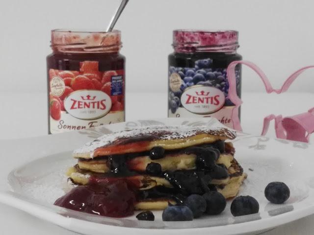 fruchtig, süße Pancake