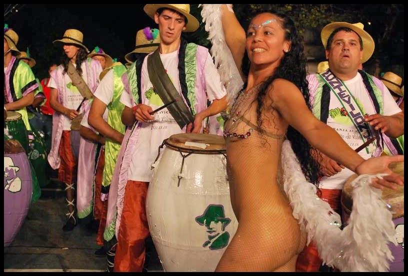 Carnaval. Desfile de Llamadas. Montevilonja. 2010.